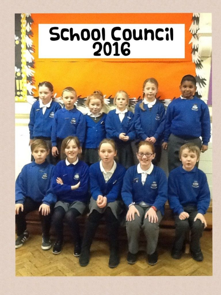 Here is our School Council 2016.